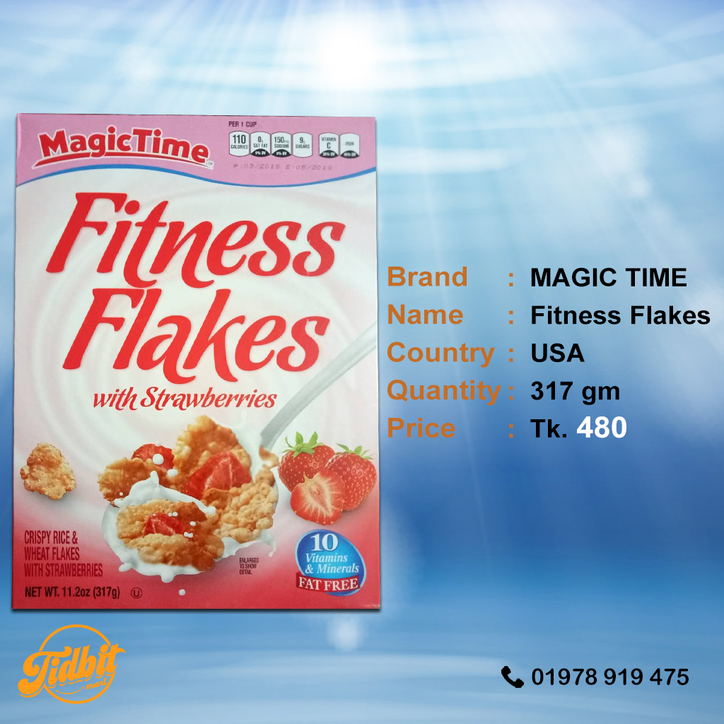 MAGIC TIME Fitness Flakes